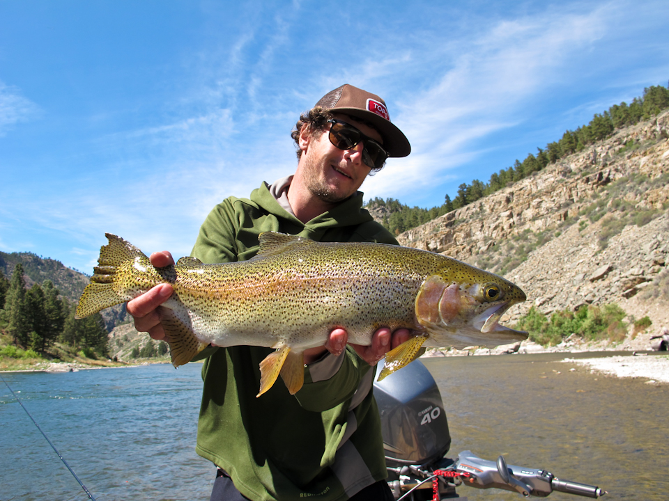 Thermopolis wyoming fly fishing guide service 307 outfitters for Bighorn river fishing report
